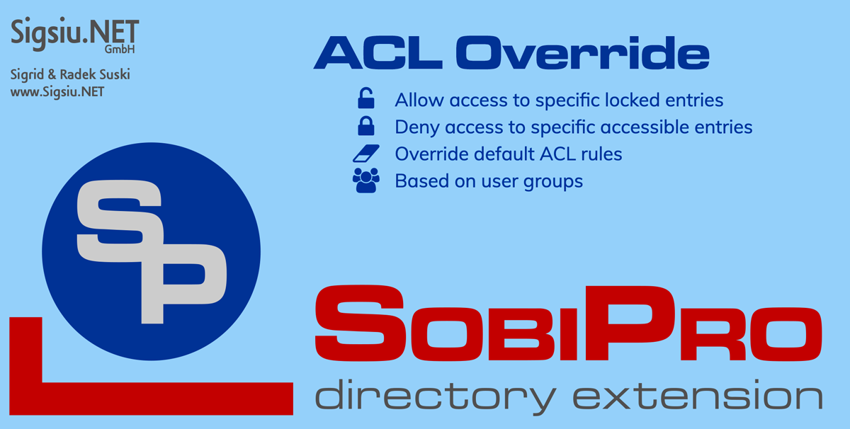 The ACL Override Application