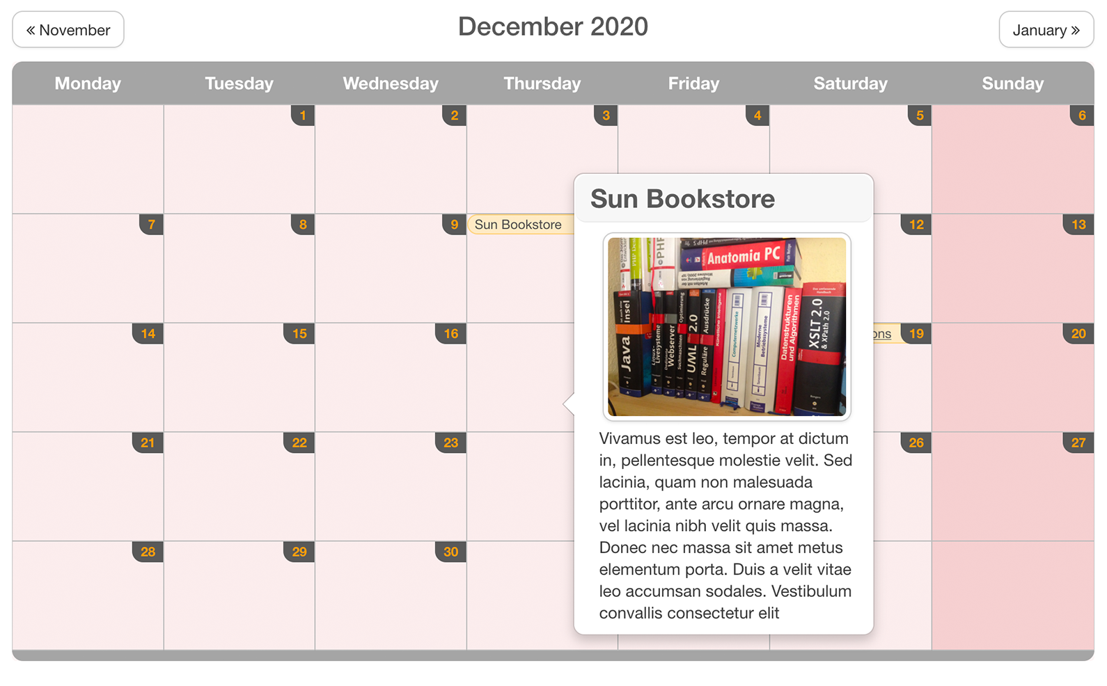 SobiPro Calendar Field