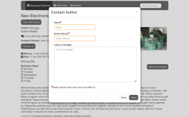 Contact Form Field for SobiPro component - contact author of listing