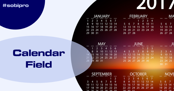 Calendar Field updated