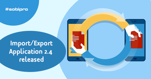 eff68904f45 Import/Export Application updated