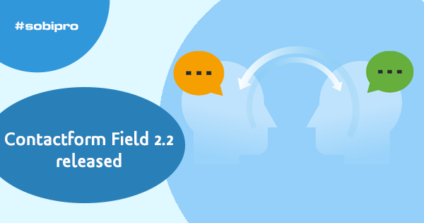 Contact Form Field 2.2 released