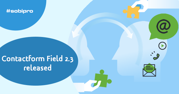 Contact Form Field 2.3 available