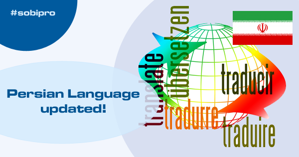 Persian language package updated