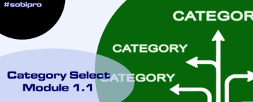 Category Select Module updated