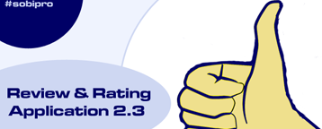 Review & Rating Application Update