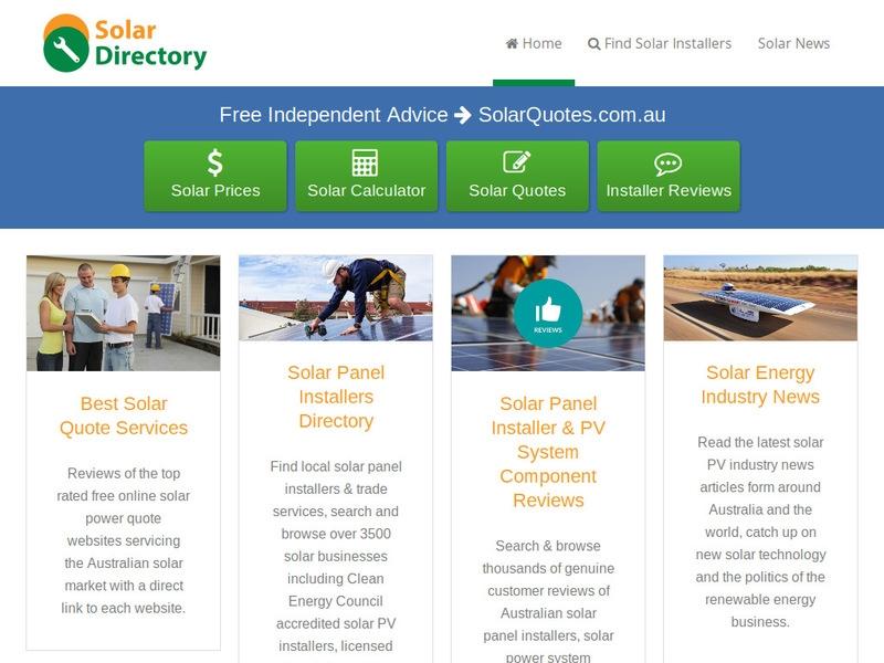 SobiPro Showcase: Solar Directory