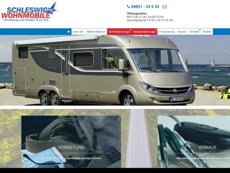 SobiPro Showcase: Schleswig Wohnmobile