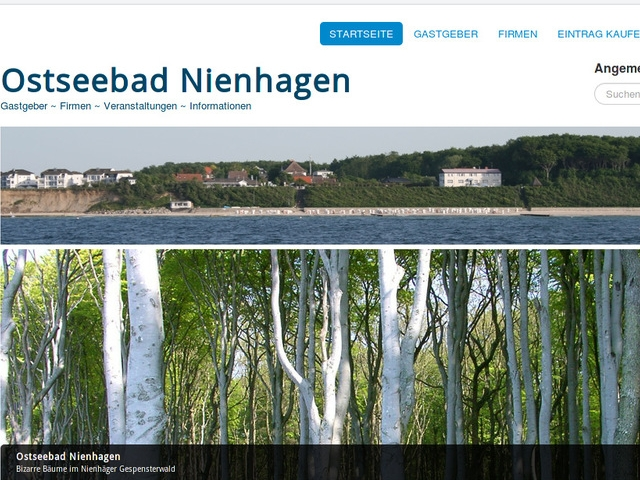SobiPro Showcase: Ostseebad Nienhagen